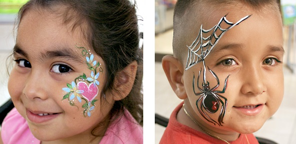 professional kid party face painter